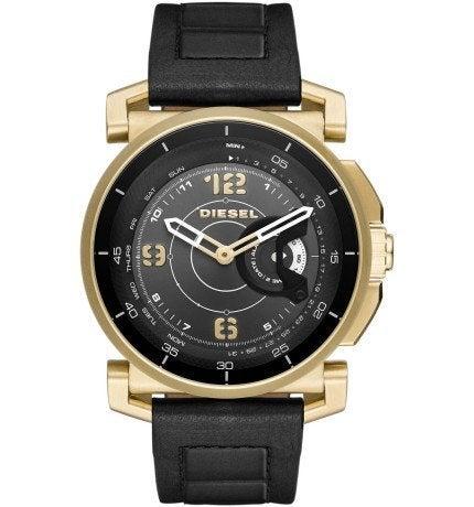 Diesel Sam DZT1004 Gold Leather Smart Watch