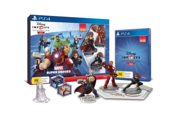 Disney Infinity 2 Starter Pack Avengers PS4 Playstation 4 Game