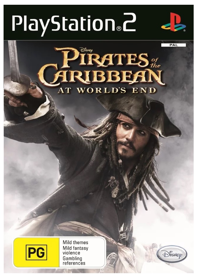 Disney Pirates of the Caribbean At Worlds End PS2 Playstation 2 Game