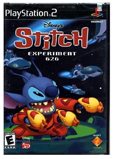 Sony Disneys Stitch Experiment 626 Refurbished PS2 Playstation 2 Game