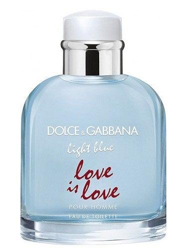 Dolce & Gabbana Light Blue Love Is Love Men's Cologne