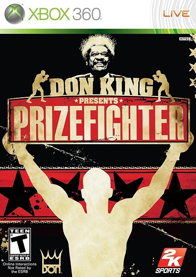 2K Sports Don King Presents Prizefighter Refurbished Xbox 360 Game