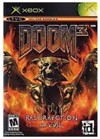 Activision Doom 3 Resurrection of Evil Xbox Game