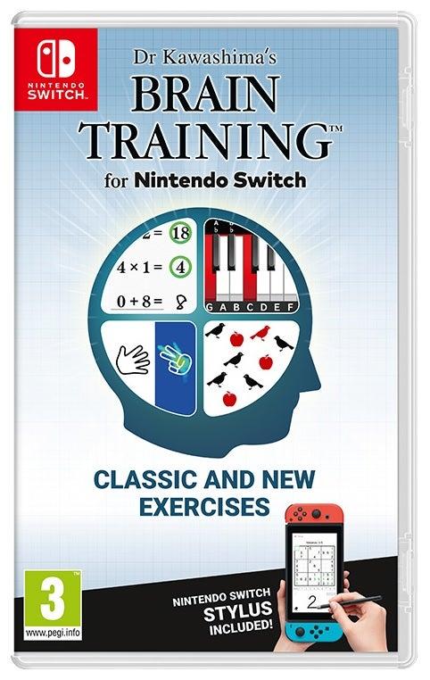 Nintendo Dr Kawashimas Brain Training Nintendo Switch Game