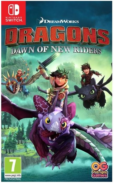 Outright Games Dreamworks Dragons Dawn Of New Riders Nintendo Switch Game