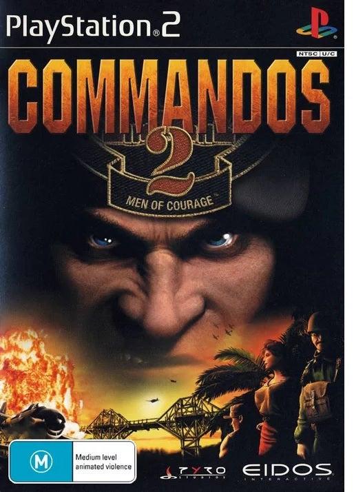 Eidos Interactive Commandos 2 PS2 Playstation 2 Game