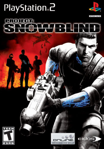Eidos Interactive Project SnowBlind PS2 Playstation 2 Game
