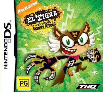 THQ El Tigre The Adventures of Manny Rivera Nintendo DS Game