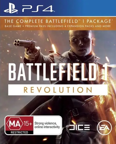 Electronic Arts Battlefield 1 Revolution Refurbished PS4 Playstation 4 Game