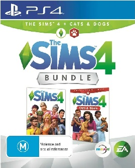 Electronic Arts The Sims 4 Cats And Dogs Bundle Refurbished PS4 Playstation 4 Game