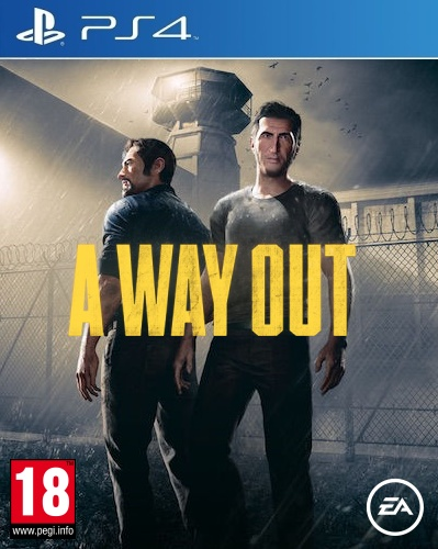 Electronic Arts A Way Out PS4 Playstation 4 Game