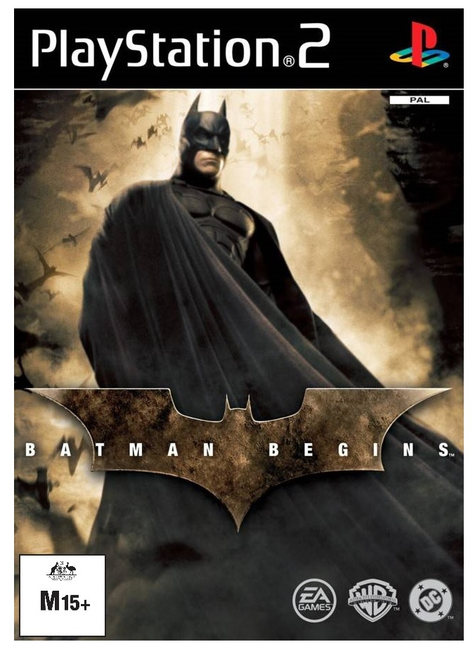 Electronic Arts Batman Begins PS2 Playstation 2 Game