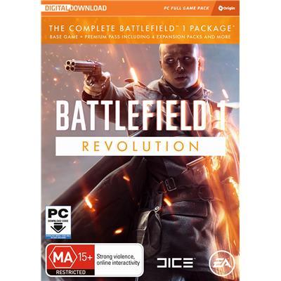 Electronic Arts Battlefield 1 Revolution Edition PC Game