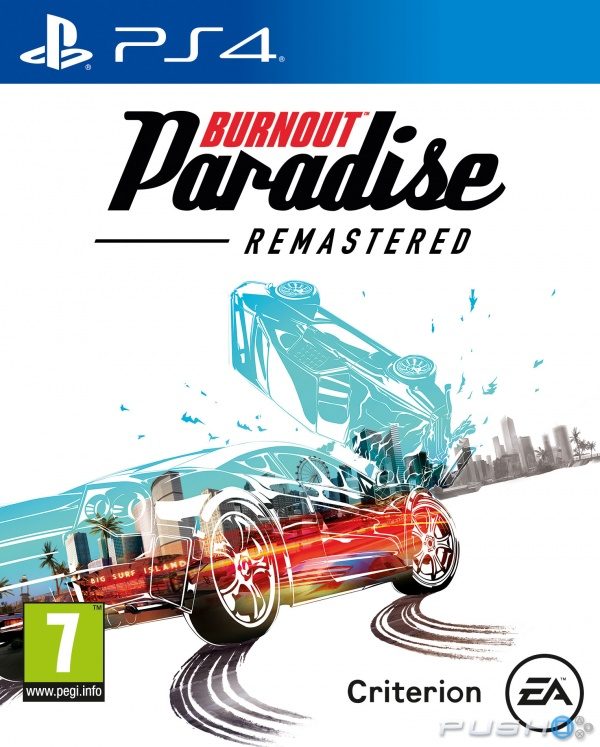 Electronic Arts Burnout Paradise Remastered PS4 Playstation 4 Game
