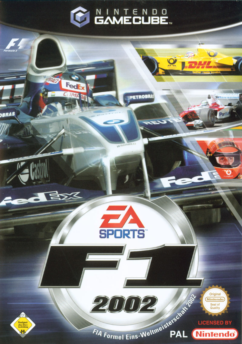 Electronic Arts F1 2002 GameCube Game