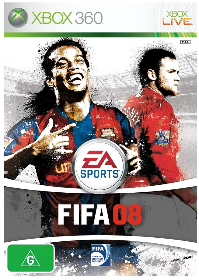 Electronic Arts FIFA Soccer 08 Xbox 360 Game