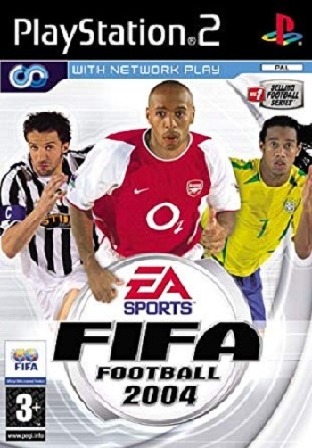Electronic Arts Fifa Football 2004 PS2 Playstation 2 Game