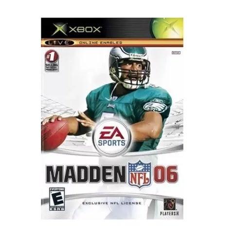 Electronic Arts Madden NFL 06 Refurbished Xbox Game