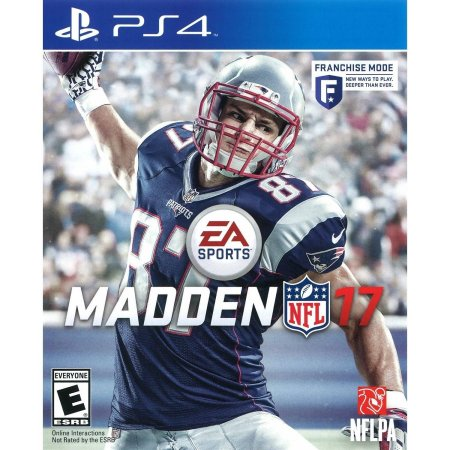 Electronic Arts Madden NFL 17 PS4 Playstation 4 Game