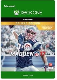 Electronic Arts Madden NFL 17 Deluxe Edition Xbox One Game