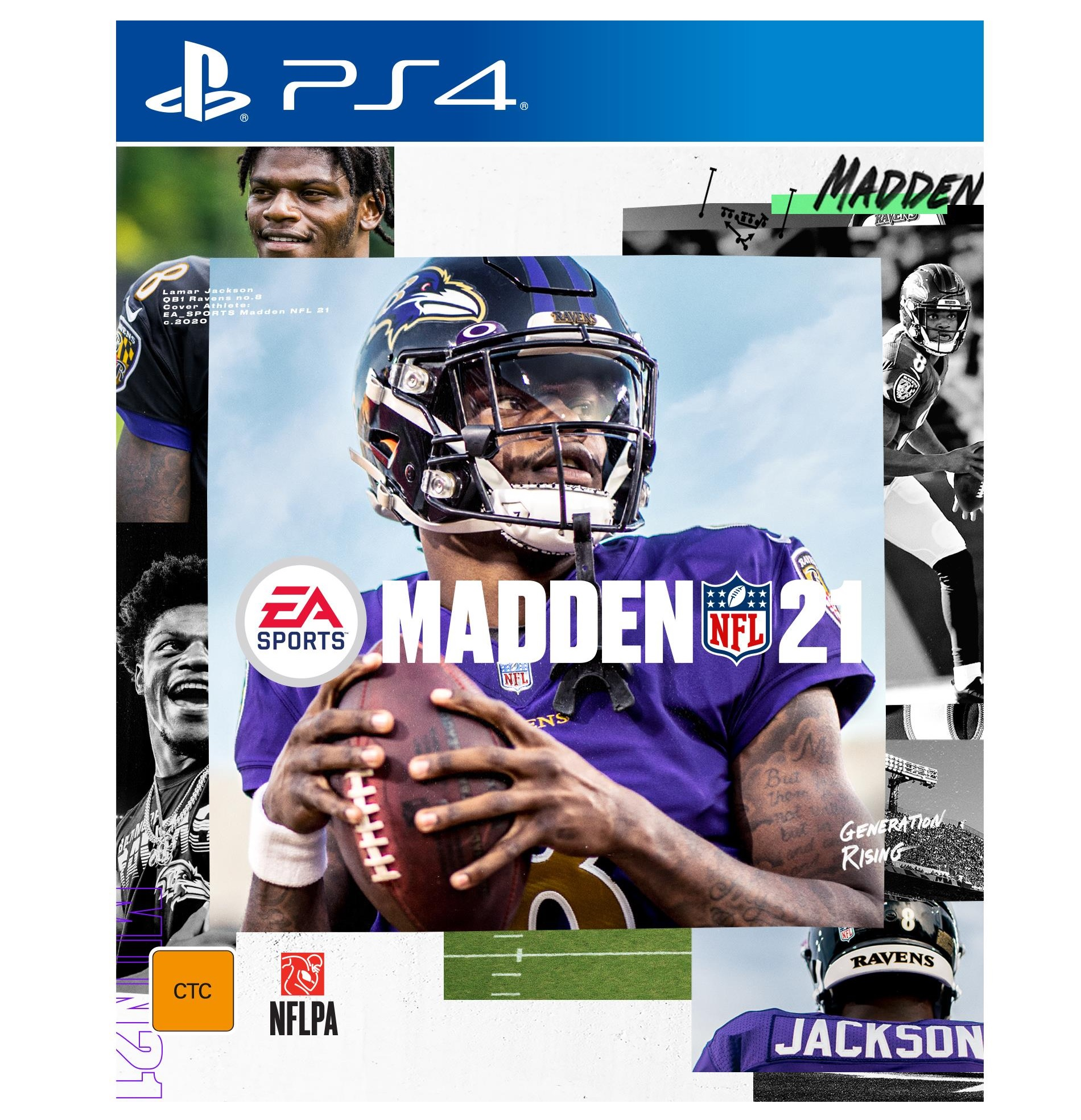 Electronic Arts Madden NFL 21 PS4 Playstation 4 Game