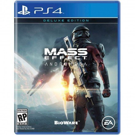 Electronic Arts Mass Effect Andromeda Deluxe Edition PS4 Playstation 4 Game