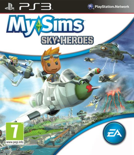 Electronic Arts Mysims Sky Heroes PS3 Playstation 3 Game
