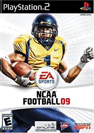 Electronic Arts NCAA Football 09 PS2 Playstation 2 Game