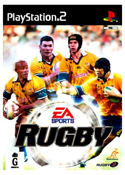Electronic Arts Rugby PS2 Playstation 2 Game
