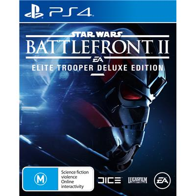 Electronic Arts Star Wars Battlefront II Deluxe Edition PS4 Playstation 4 Game