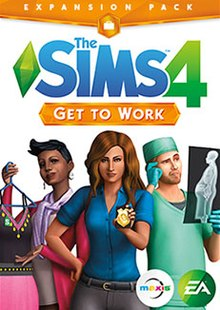 Electronic Arts The Sims 4 Get To Work PC Game