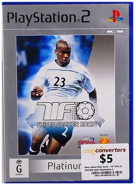 Electronic Arts This is Soccer 2003 PS2 Playstation 2 Game