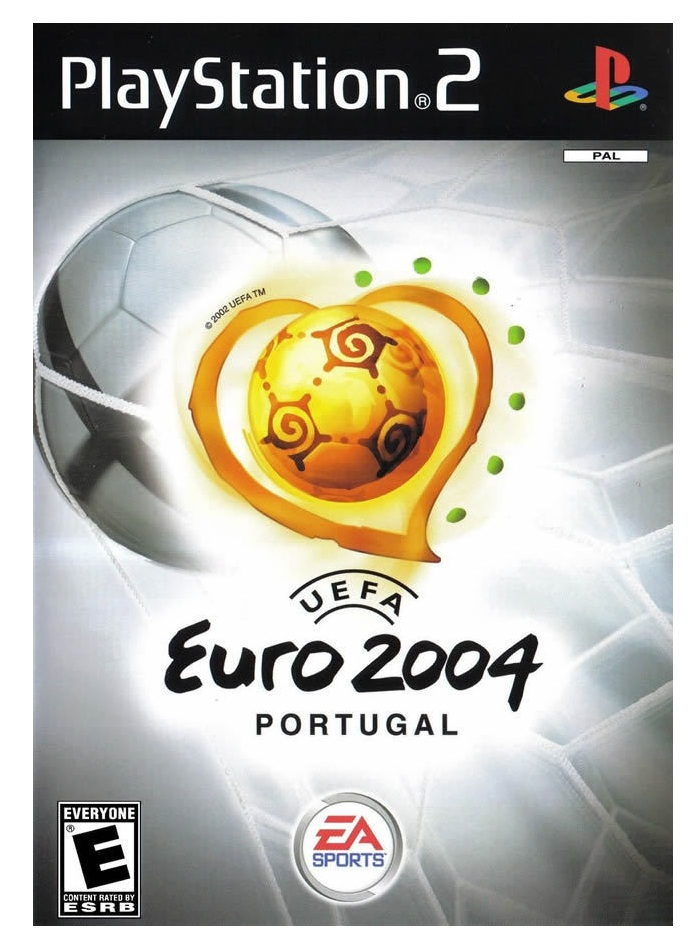 Electronic Arts UEFA Euro 2004 Portugal PS2 Playstation 2 Game