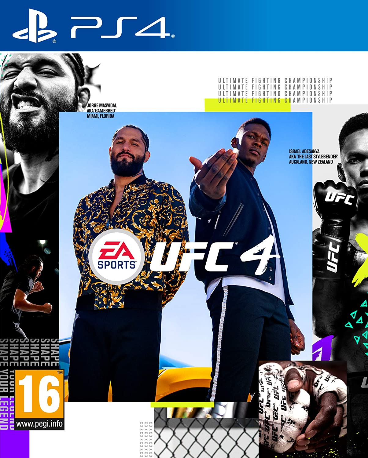 Electronic Arts UFC 4 Refurbished PS4 Playstation 4 Game
