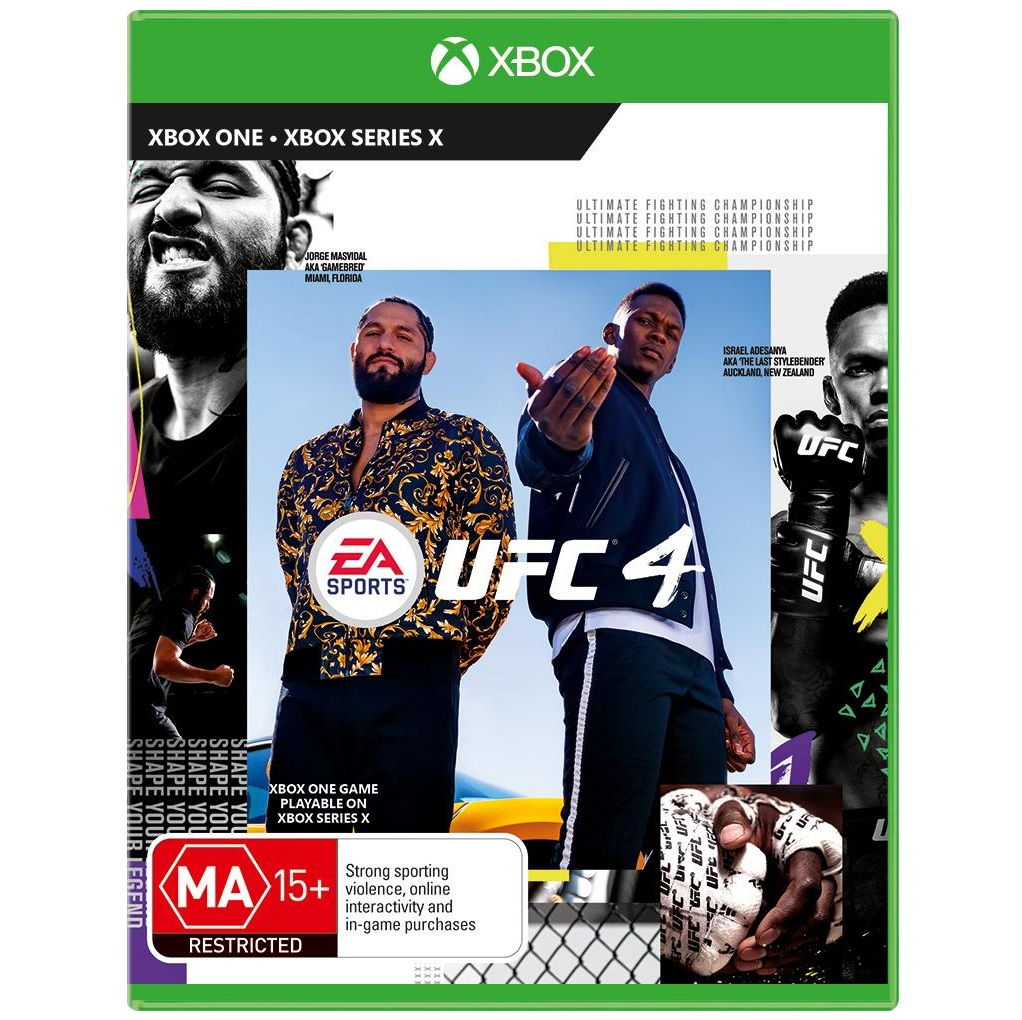 Electronic Arts UFC 4 Xbox One Game