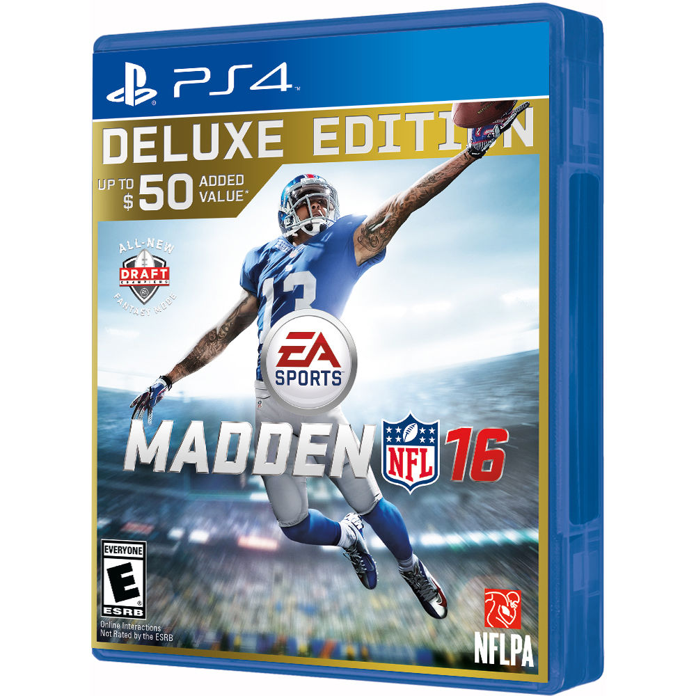 Electronic Arts Madden NFL 16 Deluxe Edition PS4 PlayStation 4 Game