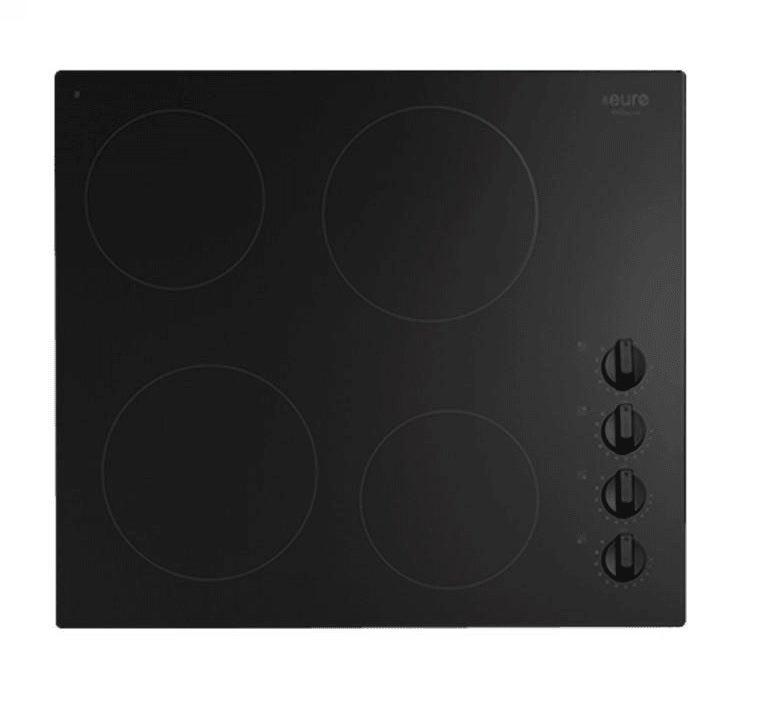 Euro Appliances ECT600CB Kitchen Cooktop