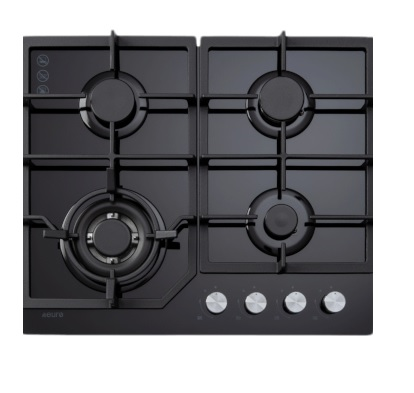 Euro Appliances ECT600GBK Kitchen Cooktop