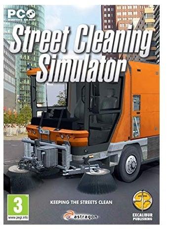 Excalibur Street Cleaning Simulator PC Game