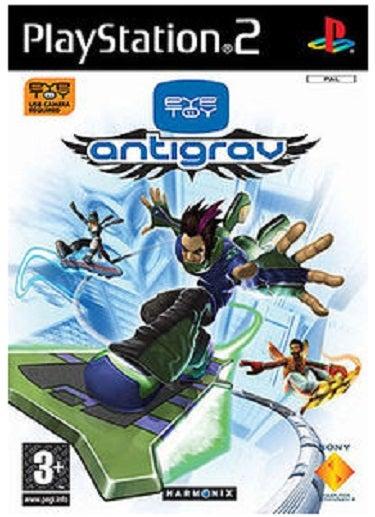Sony Eye Toy AntiGrav PS2 Playstation 2 Game