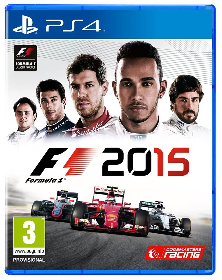 F1 2015 PS4 Playstation 4 Game