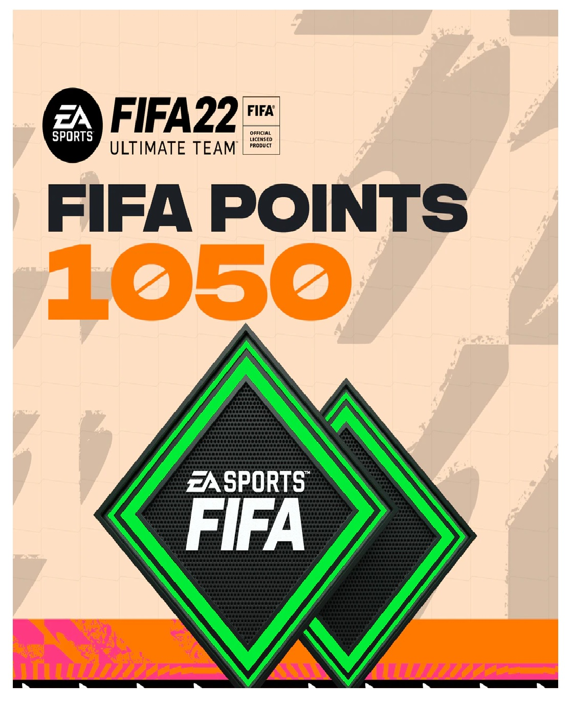 Electronic Arts FIFA 22 Ultimate Team FIFA Points 1050 PC Game