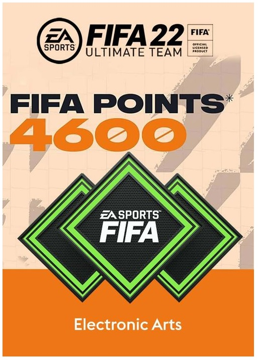 Electronic Arts FIFA 22 Ultimate Team FIFA Points 4600 PC Game