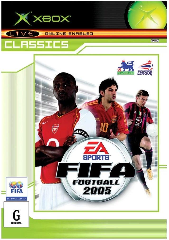 Electronic Arts FIFA Football 2005 Xbox Games