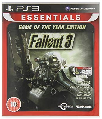 Bethesda Softworks Fallout 3 Game of The Year Edition Essentials PS3 Playstation 3 Game