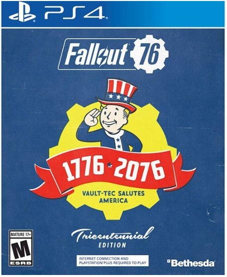 Bethesda Softworks Fallout 76 Tricentennial Edition PS4 Playstation 4 Game