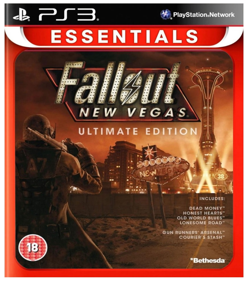 Bethesda Softworks Fallout New Vegas Ultimate Edition Essentials PS3 Playstation 3 Game