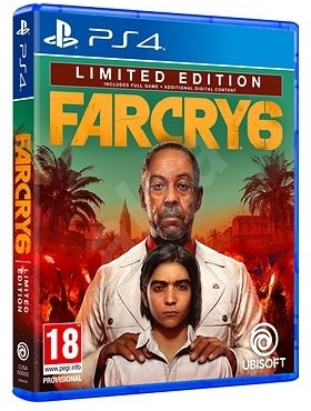 Ubisoft Far Cry 6 Limited Edition PS4 Playstation 4 Game