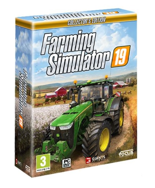 Focus Home Interactive Farming Simulator 19 CollectorS Edition PC Game