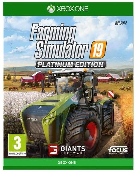 Focus Home Interactive Farming Simulator 19 Platinum Edition Xbox One Game